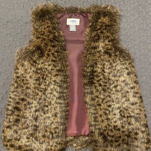 Old Navy Girls Fauxfur Vest